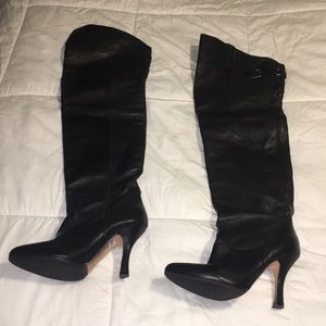 Dolce Vita thigh high leather boots